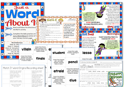 Independent practice for students to practice word study skills.