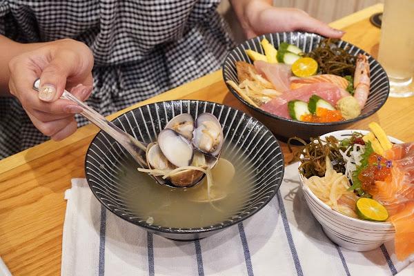台南南區美食【伊豆讚壽司專賣】餐點介紹-蛤蠣湯
