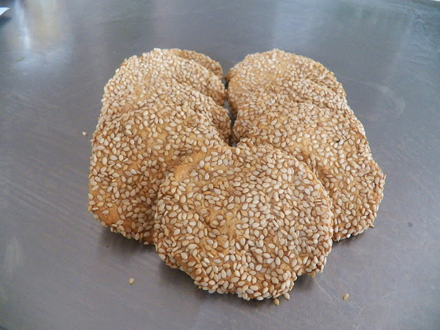 Sesame Honey Cookies