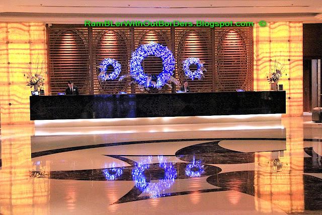Reception, Radisson Blu Hotel, Cebu, Philippines