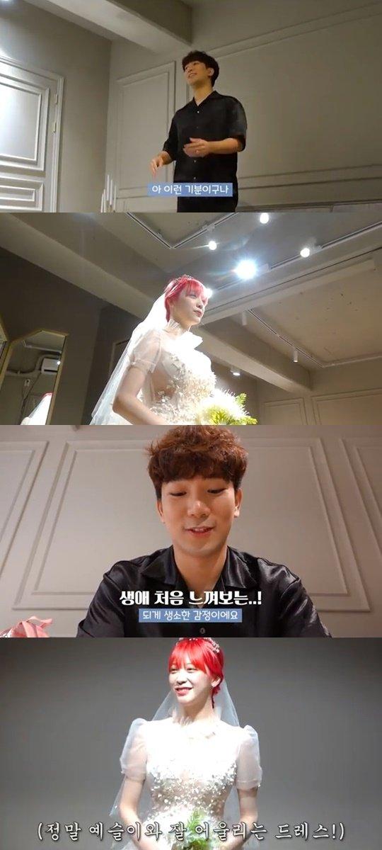 G.O ve Choi Ye Seul çifti gelinlik alışverişine başladı