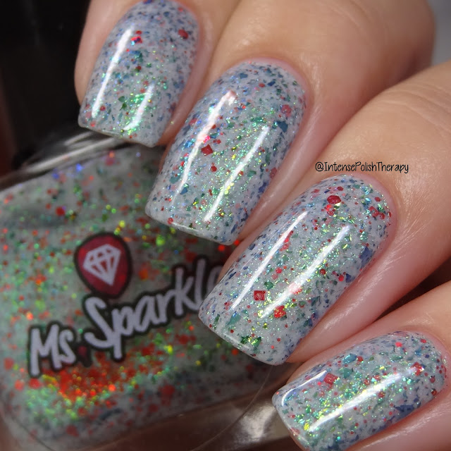 Ms. Sparkle Candy Cane