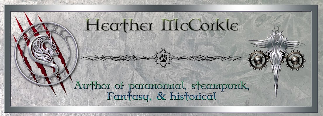 Author Heather McCorkle