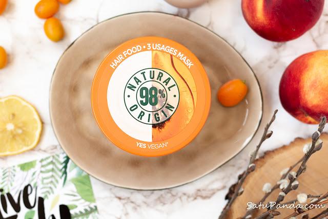 Garnier Fructis Papaya Hair Food маска для волос без силиконов