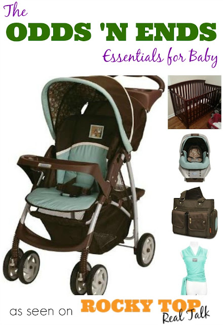 The Odds 'n Ends Essentials for Baby | All the good stuff that doesn't have to do with feeding and sleeptime! #baby #parenting #essentials #momlife #motherhood #infant