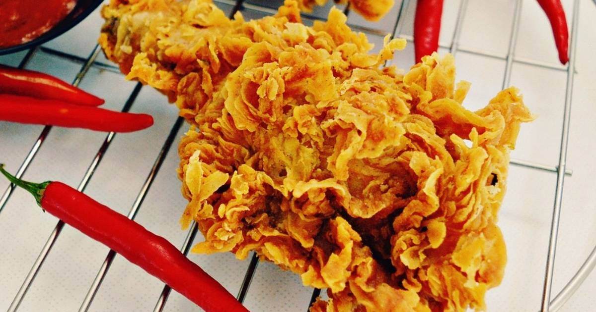 Resep kue dating goreng ayam