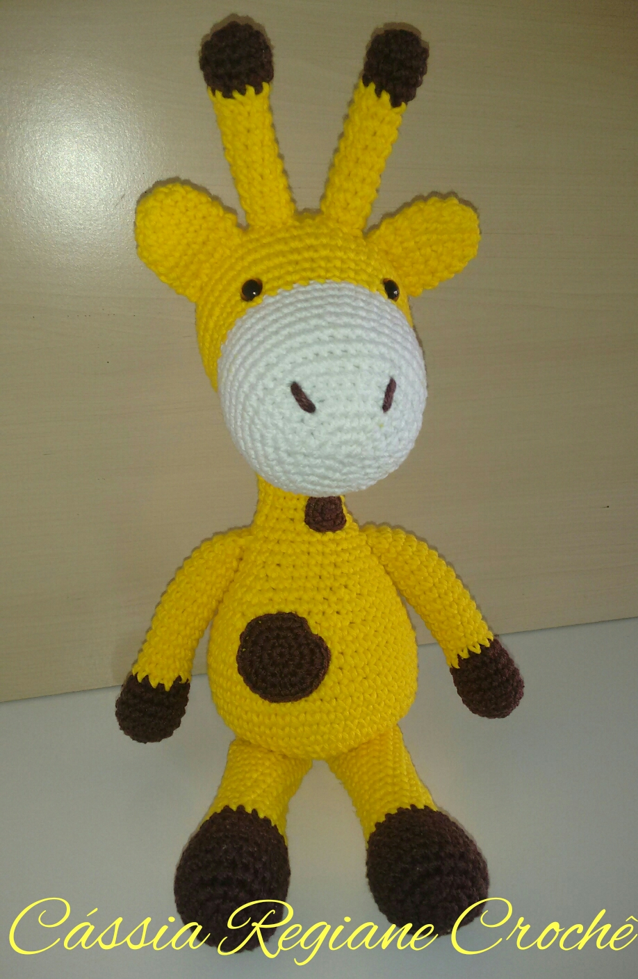 girafinha-amigurumi-receita : Revista Artesanato | 1410x918