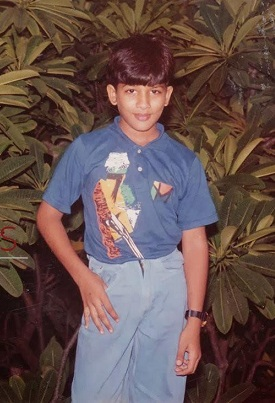 Allu Arjun Childhood Photos