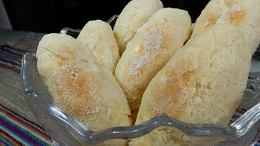 Receita de pãozinho de tapioca - Comida Arretada