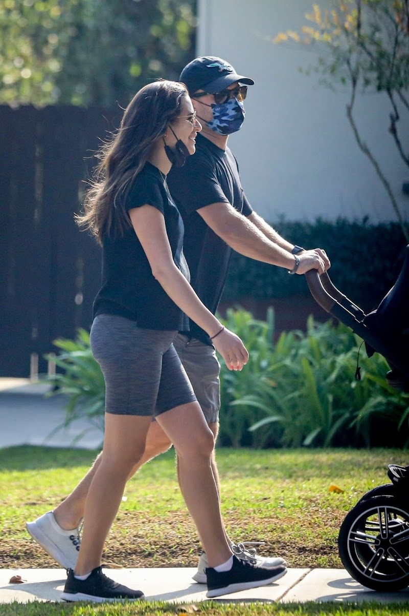 Lea Michele and Zandy Reich Out in Brentwood 9 Oct -2020