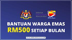Cara Membuat Permohonan Bantuan Warga Emas RM500 Setiap Bulan 2021