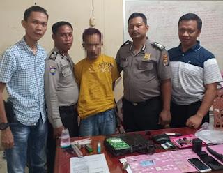 Polisi Tangkap Bandar Narkotika di Tulang Bawang Barat dan Sita 37 Paket Sabu