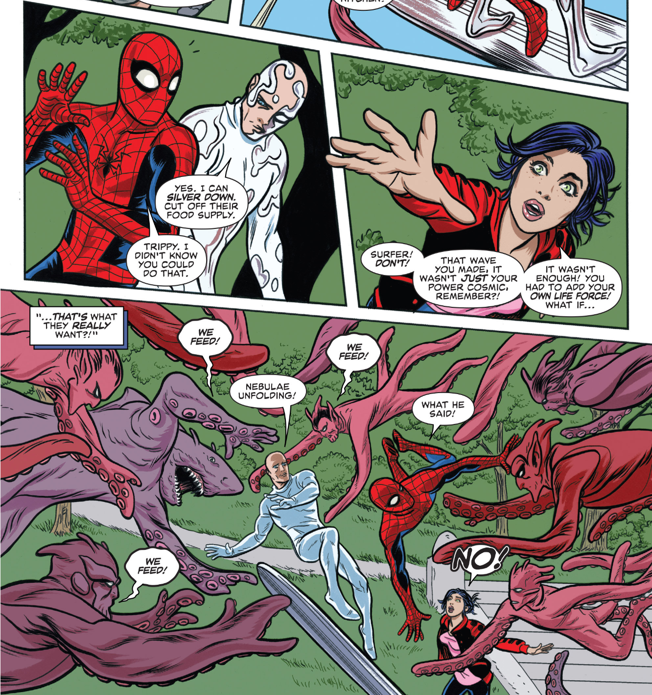 Weird Science DC Comics: Silver Surfer #6 Review and **SPOILERS** - Marvel  Monday