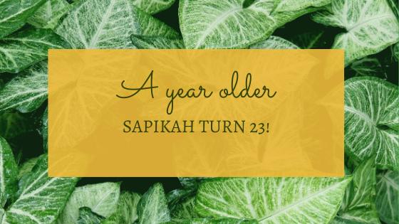 A YEAR OLDER!
