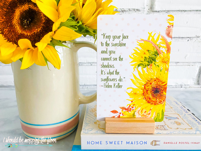 Free Sunflower Printable