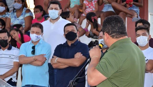 Guamaré: Lagoa Seca recebe a Praça Poliesportiva