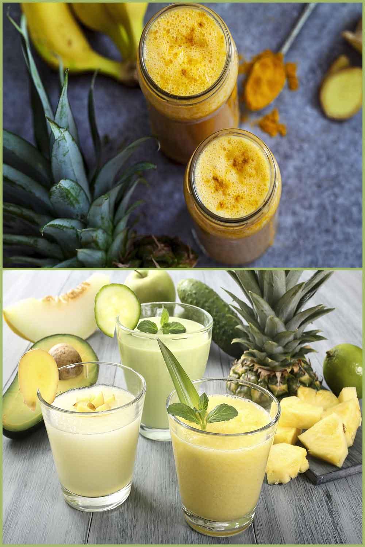 smoothie tropical au curcuma est un concentré de nutrition