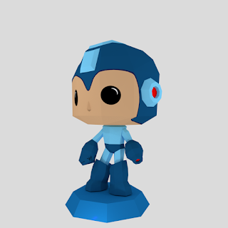 Megaman Funko Papercraft | RondiPaper PaperToy