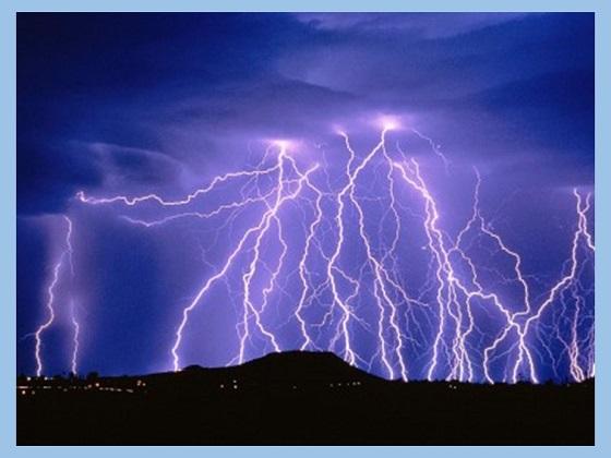 fenomena alam listrik statis pada petir