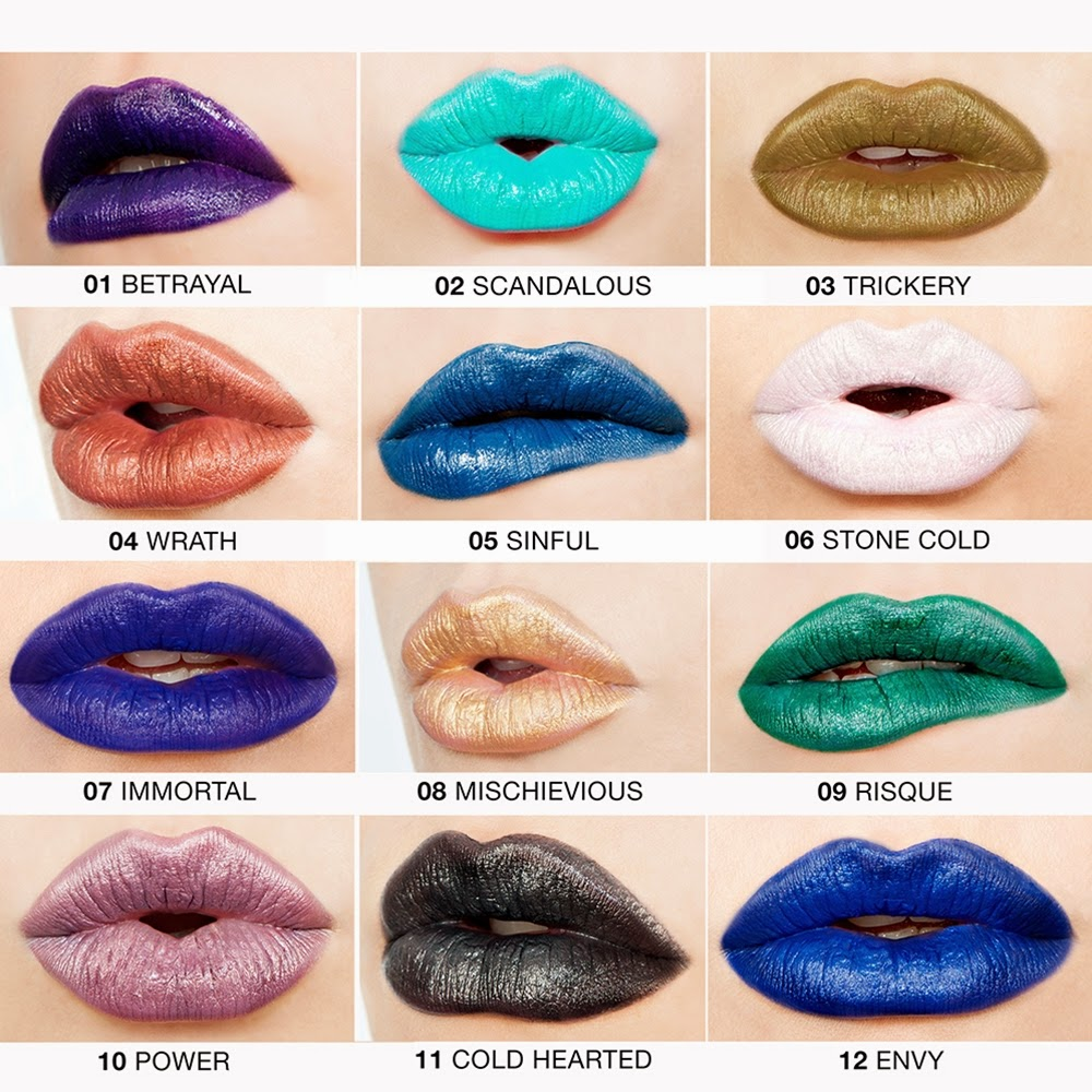 wicked lippies, wicked lipsticks, nyx cosmetics, nyx, new product, metallic lipstick