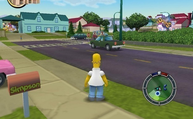 The Simpsons: Hit & Run - On this day