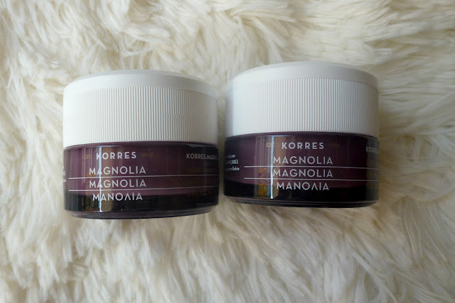 Korres magnolia day and night cream