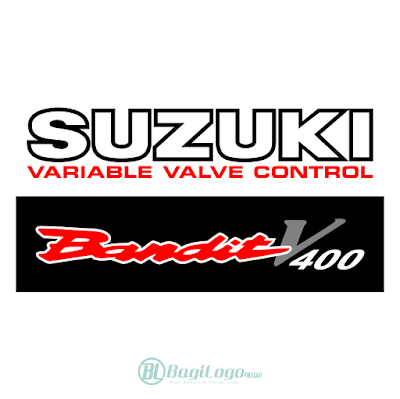 Suzuki Bandit V400 Logo Vector