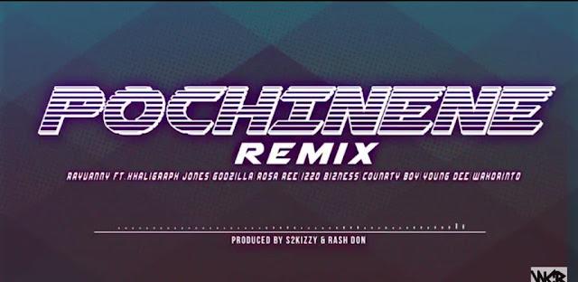 Rayvanny Ft Khaligraph Jones, Godzilla, Rosa Ree, Izzo Bizness, Counrty Boy, & Young Dee - Pochi Nene (Remix)