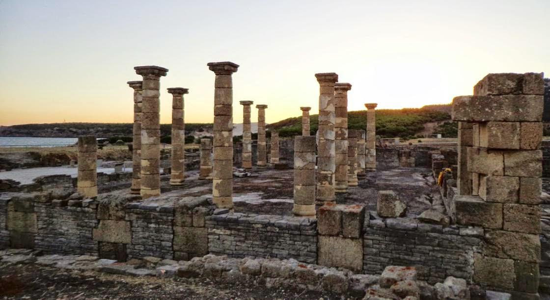 Columnas en la antigua Roma