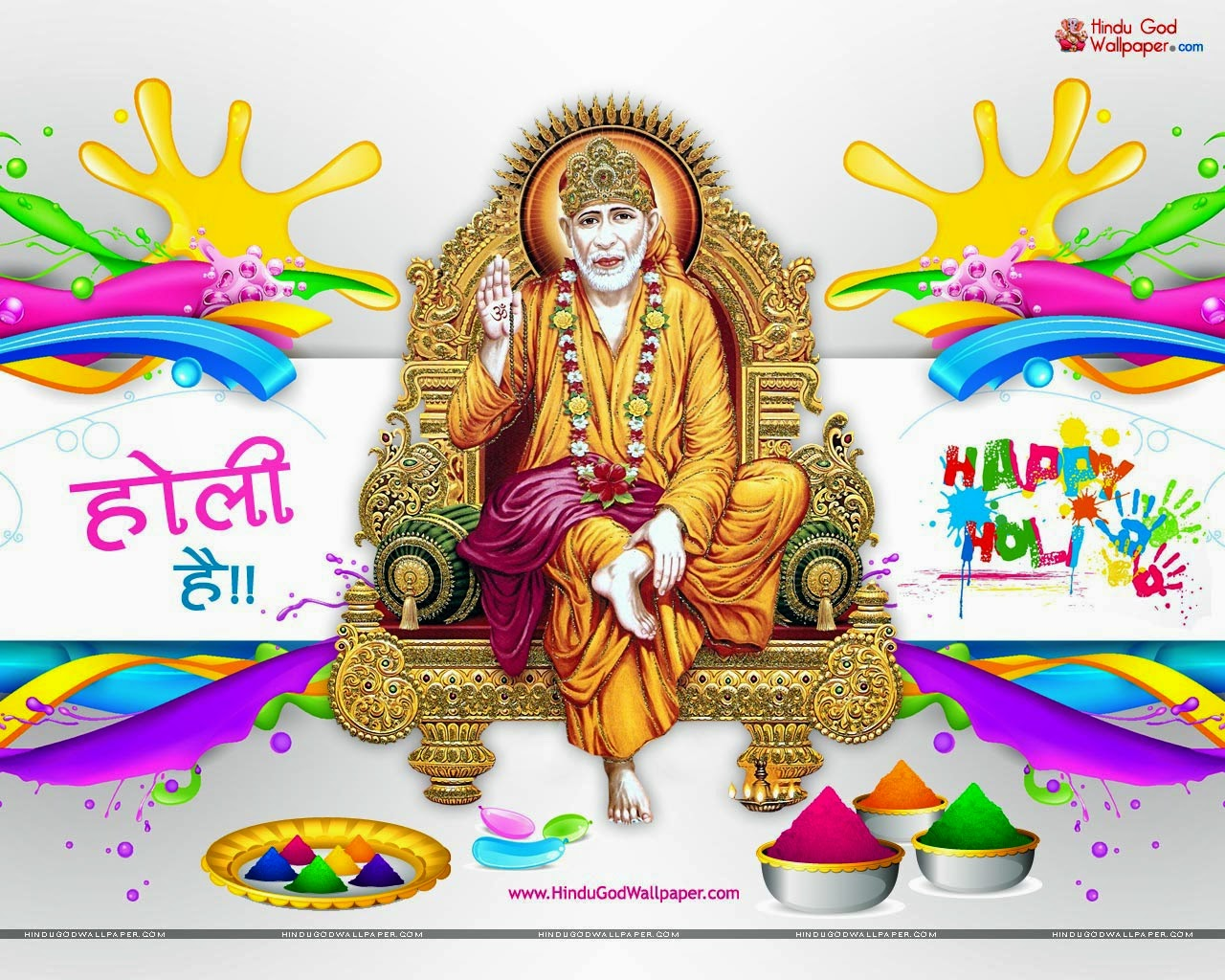 Latest Holi Wallpapers