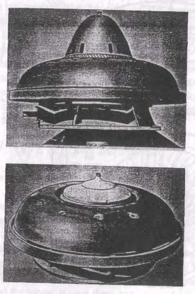 Platillo volador experimental de Viktor Schauberger construido en 1940