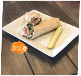 TURKEY, BACON, AVOCADO & RANCH WRAP