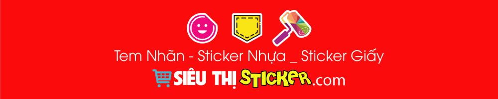 Siêu Thị Sticker - Sticker, Decal, Patch ủi trang trí