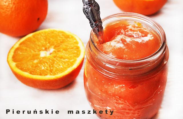 domowy krem pomarańczowy