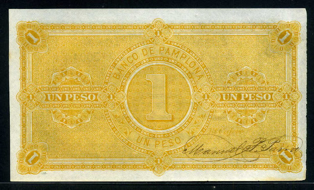 Banco Pamplona Peso