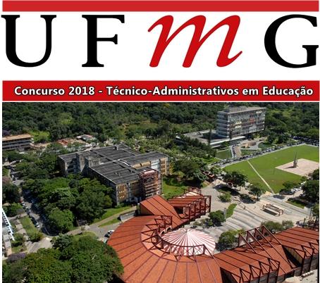 UFMG edital concurso 2018,
