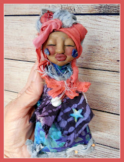 The Knowing a Crone Intuition Spirit Doll