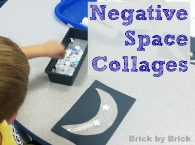 Negative Space Collages (Brick by Brick)
