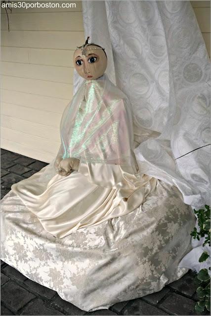 Emperatriz Infantil en el Return of the Pumpkin People de Jackson en New Hampshire
