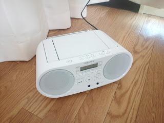 CDラジオの写真