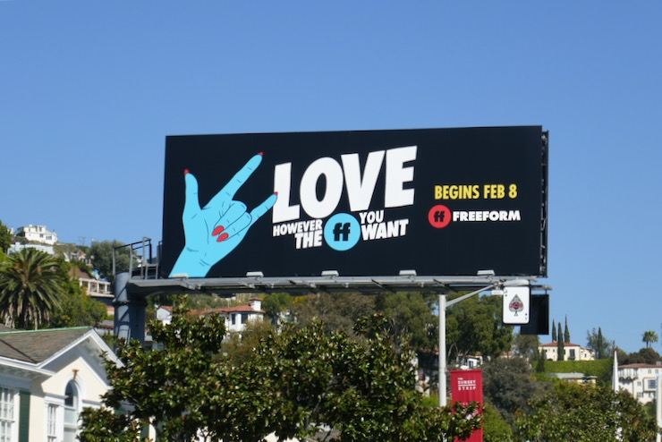 Freeform Love however the FF you want billboard