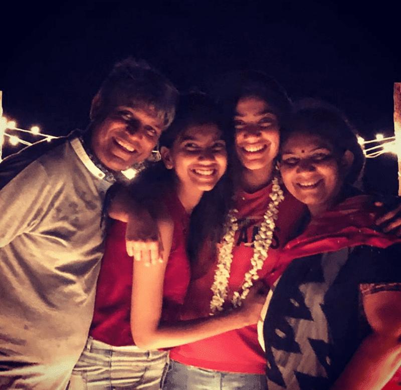 sai pallavi family