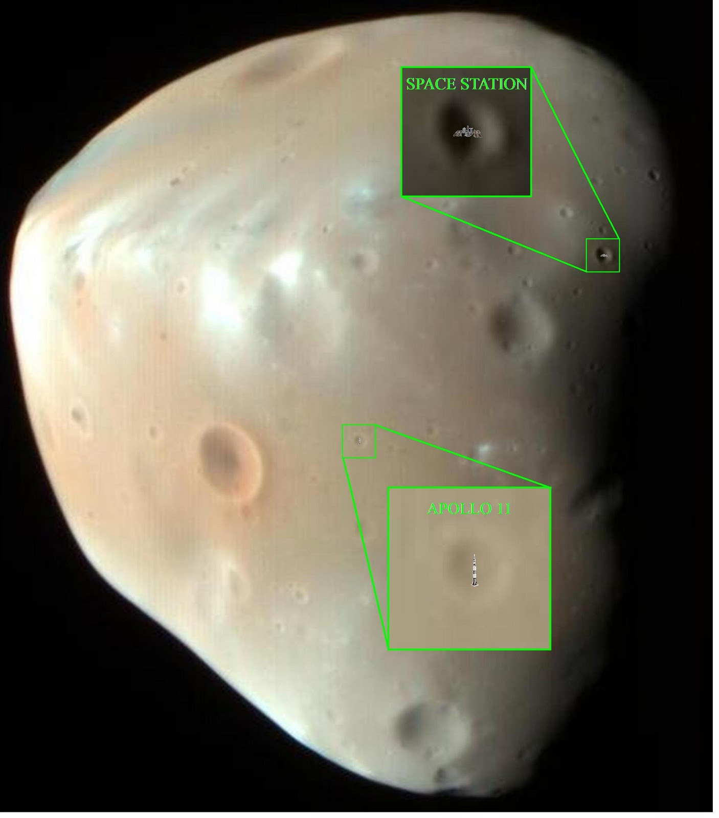 Mars Moons: Facts About Deimos