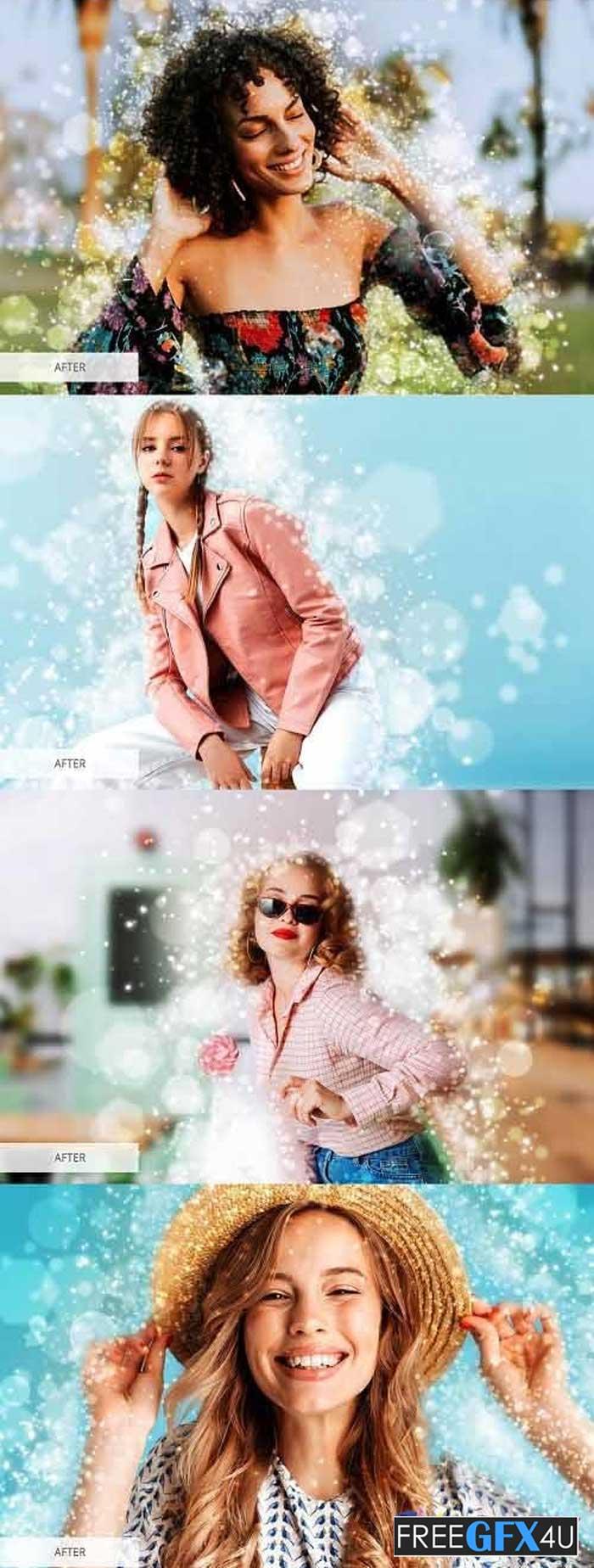 Sparkle Photoshop Action