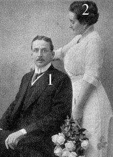 prince Alfred et princesse Theresia von und zu Liechtenstein