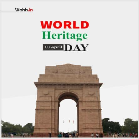 World Heritage Day Status In Hindi Images
