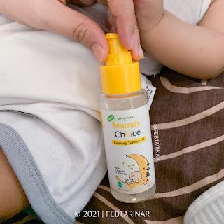minyak telon bayi mamas choice