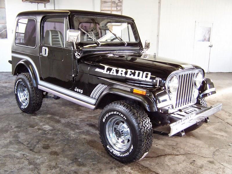 Dunia Modifikasi: Kumpulan Foto Modifikasi Mobil Jeep CJ-7 ...