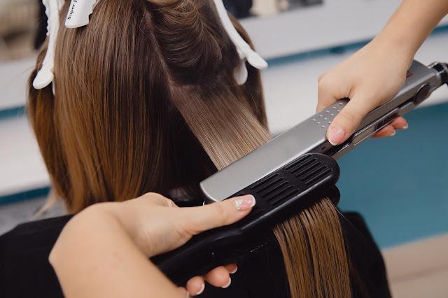 perawatan rambut di salon