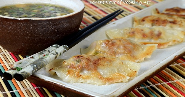 Pork And Shitake Potstickers Recipe